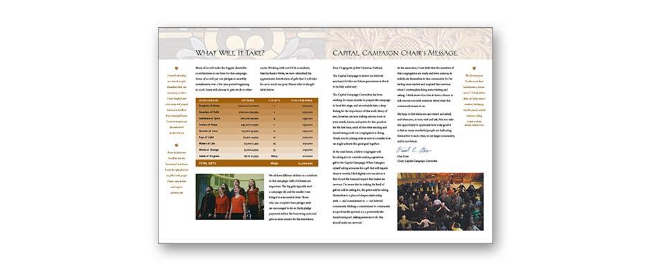 Capital campaign print design 3