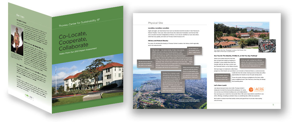 Nonprofit booklet