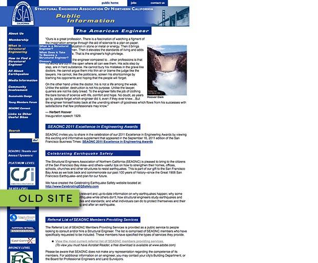 Organization website design 4